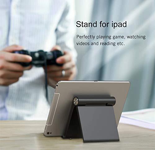 Nuevo-Soporte-Universal-Reforzado-Ajustable-para-Movil-y-Tablet-4-72-Multiangulo-0-100-GradosDiseno-Plegable-de-MesaApple-iPhone-iPad-Samsung-Huawei-Xiaomi-Negro