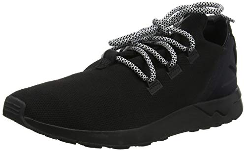adidas ZX Flux Zapatillas Altas, Hombre, Negro (Black Black), 44 EU