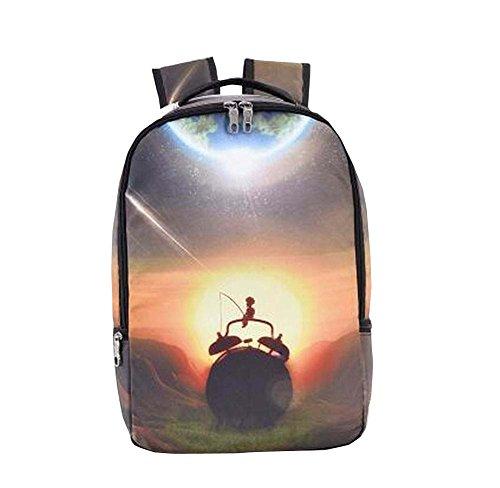 [Paysage] Etudiants / Voyageurs / Daily Backpack Livre / Vêtements Sac