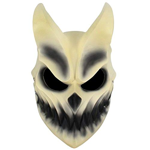 Demon Mask Slaughter to Prevail Mask Kid of Darkness Deathcore Band Cosplay Resin Halloween Props