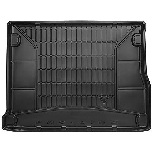 DBS Tapis de Coffre Auto - sur Mesure - Bac de Coffre pour Voiture - Rebords Surélevés - Caoutchouc Haute qualité - Antidérapant - Simple d'entretien - 1766584