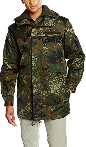Men's Bundeswehr Jacket With A Removabel Inner Jacket,Flecktarn,8