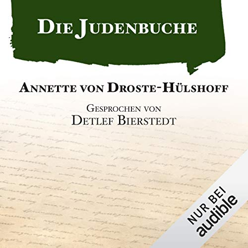 Die Judenbuche audiobook cover art