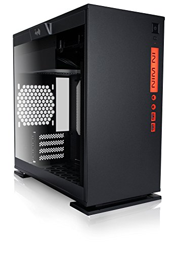InWin 301 Black Tempered Glass Premium Micro-ATX Mini-ITX Tower Gaming Computer Case