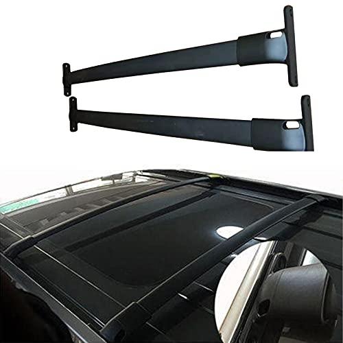 YUDE Portaequipajes de Barra Transversal de aleación de Aluminio, Adecuado para Senderismo y Camping, de 2 Piezas, Adecuado para el Modelo Ford Explorer 2016-2017-2018-2019