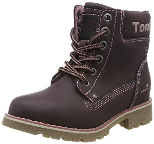 TOM TAILOR Mädchen 7970810 Stiefeletten, Rot (Oxblood 02610), 27 EU