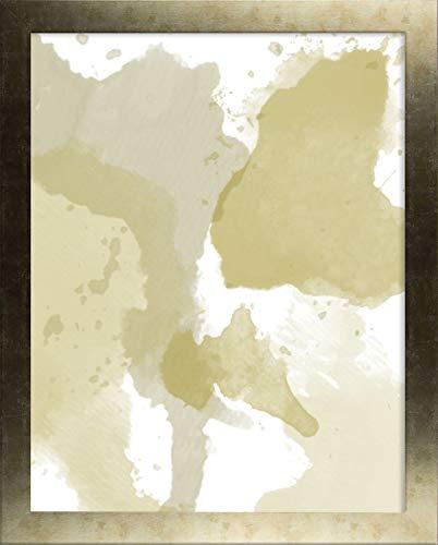Misano rand fotolijst 18,1x36,6 Inch (46 x 93 cm) met Antireflectief Kunststof Glas Perspex 36,6x18,1 Inch fotolijst Oud Goud