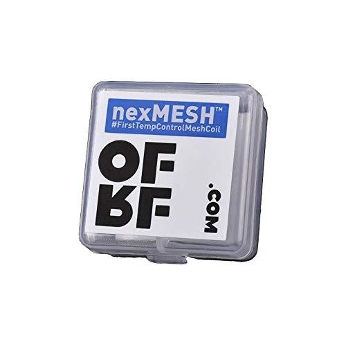 10Stk. nexMESH OFRF COIL 0,15 Ω Ohm SS316L Wotofo Mesh Selbstwickler RBA 50-80W