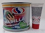 MASILLA PARA CARROCERIA CON FIBRA DE VIDRIO 250 G