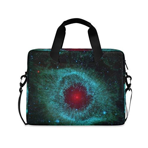 Funda de hombro compatible con portátiles de 14 a 15,6 pulgadas, Aquarius Starry Sky