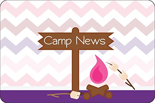 "Camp Fire Purple Camp Postcards   Kid Postcards   Camp Stationery   6"" X 4"" Postcards for Kids"