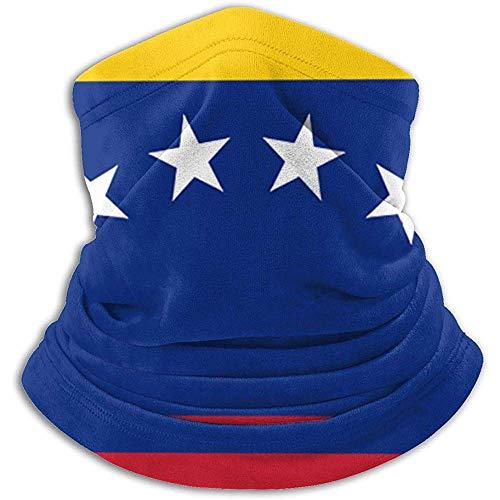 Cuello Bufanda Bandera De Venezuela Cuello Polaco Invierno Más cálido Abrigo para la Cabeza