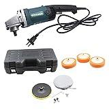 YIYIBY PKW Poliermaschine Polier Schleifmittel Sets, Politur Schleifmaschine Rotationsschleifer 1400W Variable 6 Speed Dial