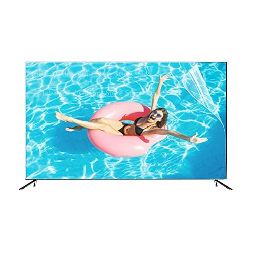AMDHZ Adecuado para LCD, LED, 4K OLED y QLED y Pantalla Curva, Protector de Pantalla, Aliviar la Fatiga Ocular, Película de Filtro antideslumbrante (Color : Matte Version, Size : 60 Inch 132X*749mm)