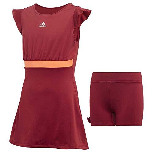 adidas Dziewczęca sukienka G Ribbon czerwony Buruni 164