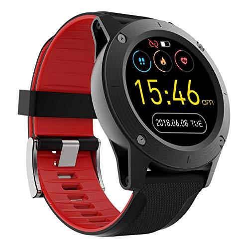 AYZE Reloj De Fitness con PodóMetro Smartwatch Pantalla De 1,3', Batería De 400 mAh, Detección De Datos De Salud/Ejercicio, Reloj De Sincronización De Información del TeléFono MóVil Red