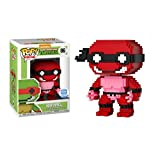 Funko Pop 8-bit : Teenage Mutant Ninja Turtles - Raphael 3.75inch Vinyl Gift for Anime Fans SuperCollection