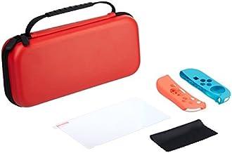 AmazonBasics Starter Kit for Nintendo Switch (Red)