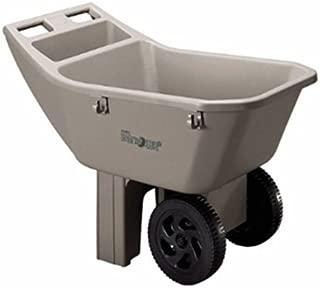Ames 2463675 3 Cubic Feet Easy Roller Jr. Lawn Cart/Tan (tan)