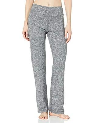 C9 Champion Women's Curvy Fit Yoga Pant, Ebony Heather - Regular Length, L