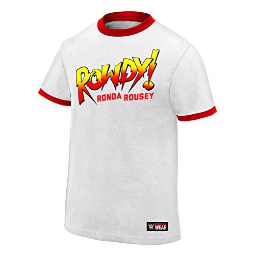 WWE Ronda Rousey Rowdy Ronda Rousey - Camiseta auténtica