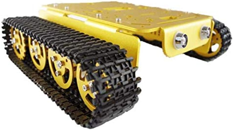 marcas de diseñadores baratos DIY T200 Aluminum Alloy Metal Tank Track Caterpillar Chassis Chassis Chassis - F  ventas al por mayor