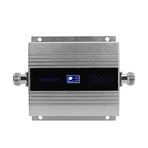 Amplificador de señal,Baugger- LCD GSM900MHz Amplificador de señal de teléfono móvil Repetidor de señal de teléfono celular Amplificador de señal con antena de ventosa