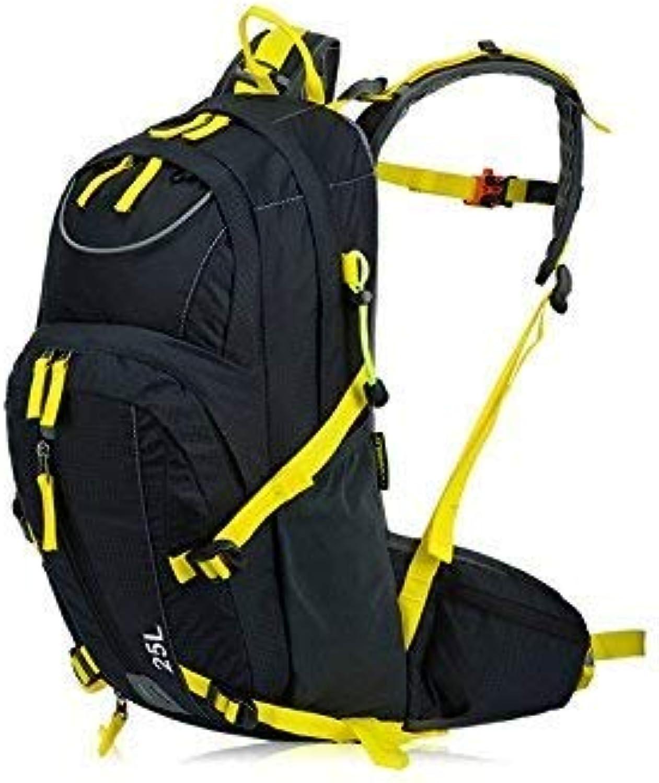 Reise-Wanderrucksack, Outdoor und Indoor Sport Outdoor Casual Reitrucksack Klettern Tasche Wanderrucksack (Schwarz  Gelb) B07LF53QBL  Charmantes Design