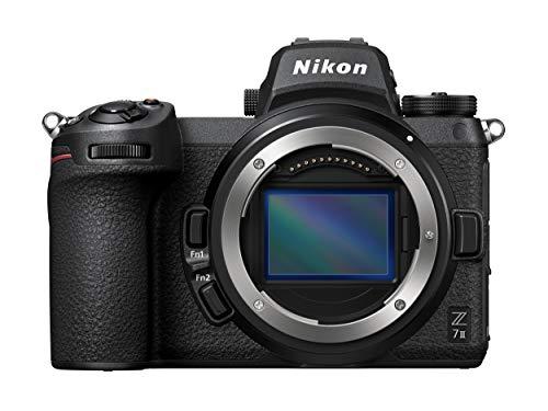 Nikon Z 7II Spiegellose Vollformat-Kamera (45,8 MP, 10 Bilder pro Sekunde, Hybrid-AF, 2 EXPEED-Prozessoren, doppeltes Speicherkartenfach, 4K UHD Video mit 10-Bit-HDMI-Ausgabe)