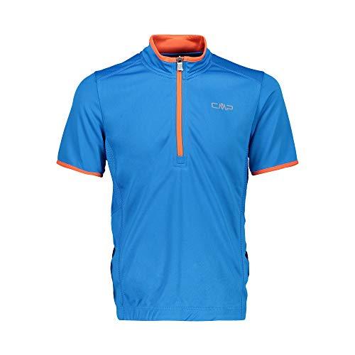 CMP Kinder Bike 3C89554T Shirt, Blu (Cyano), 152