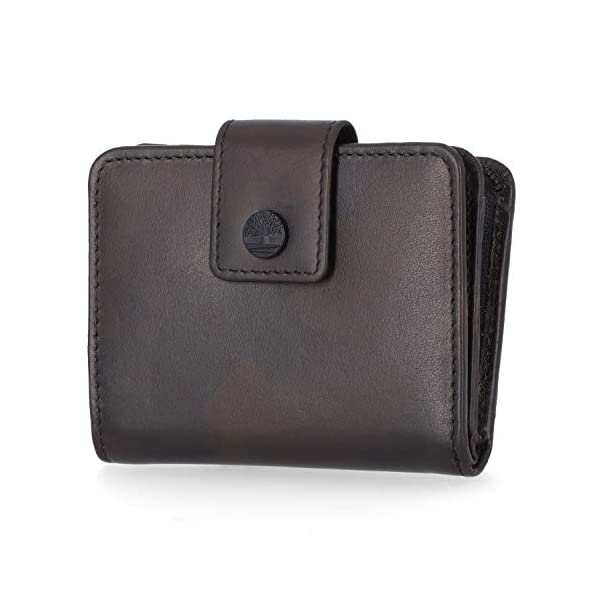 Timberland Women's Leather RFID Small Indexer Wallet Billfold 1