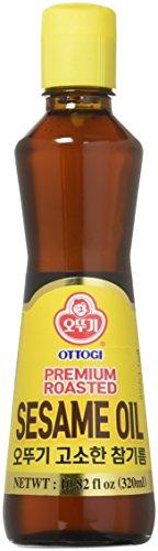 Ottogi Premium Roasted Sesame Oil, 10.82 Ounces
