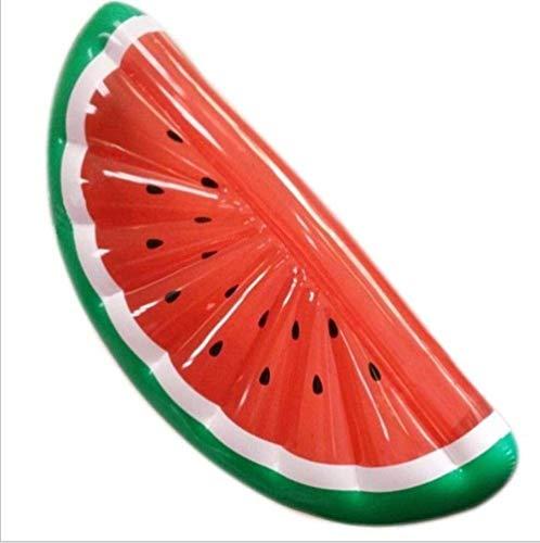 185cm aufblasbares Pool Float Matratze Spielzeug Wassermelone Ananas Cactus Beach-Schwimmen-Ring-Frucht Floatie Luftmatratze, Ananas yqaae (Color : Watermelon)