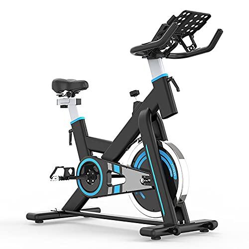 BETTER ANGEL LE Bicicleta De Ejercicio, Bicicleta Estática, Bicicleta Fitness En Casa, Plegable con Respaldo, Sensor De Pulso, Niveles De Resistencia Magnética