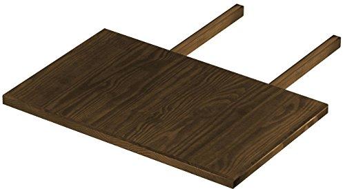 Brasilmöbel Ansteckplatte 50x80 Eiche antik Rio Classiko oder Rio Kanto - Pinie Tischverlängerung Echtholz - Größe & Farbe wählbar - für Esszimmertisch Holztisch Tisch ausziehbar
