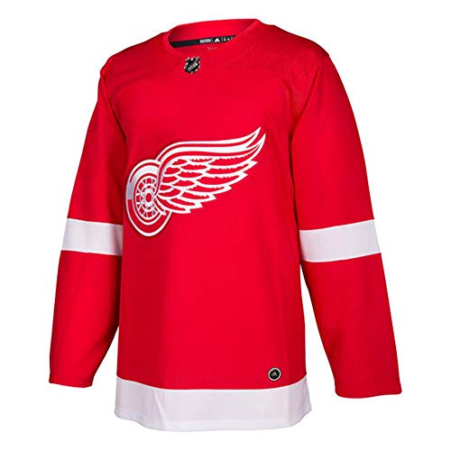 adidas Detroit Red Wings NHL Men's Climalite Authentic Team Home Red Hockey Jersey (Large)