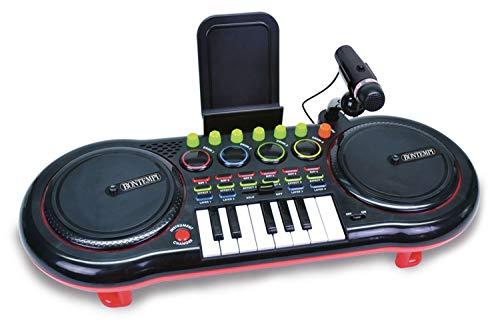 Bontempi-18 1000 Tastatur, 15 4900, Mehrfarbig