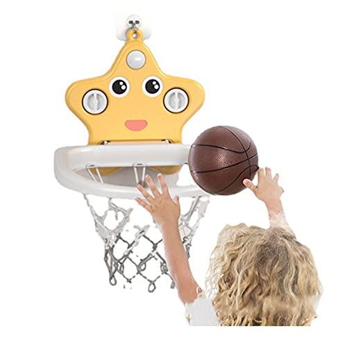 Tablero de Baloncesto Soporte de Baloncesto de Dibujos Animados para niños, Juguete Simple montado en la Pared del Baloncesto de la Ventosa del hogar, Mini Soporte de Tiro para bebé de Interior