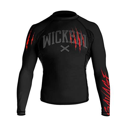 Wicked One Rashguard Savage - Camiseta de compresión para hombre (talla L)