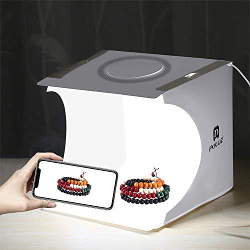 Mini Photo Studio Box Kit De Carpa Para Fotografía Portátil Con Forma...