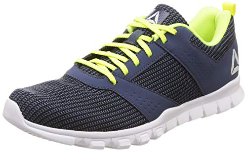 Reebok Men's Breeze Lp Black/Smoky Indigo Running Shoes-6 UK/India (39 EU)(7 US) (DV7853)