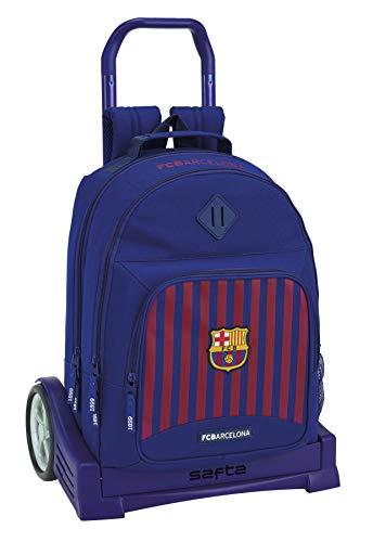 FC Barcelona Rugzak, grote wielen, trolley