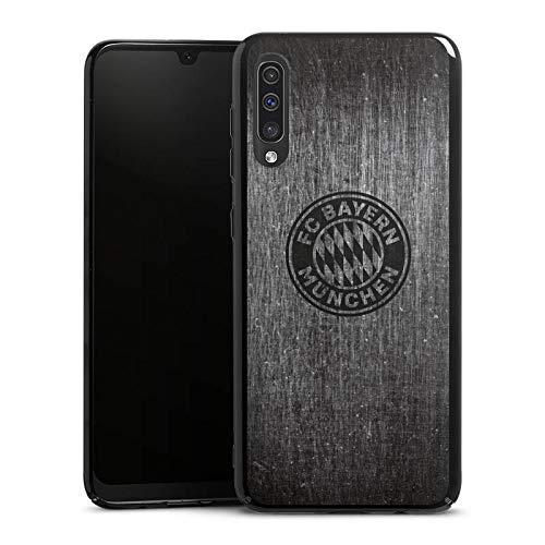 DeinDesign Hard Case kompatibel mit Samsung Galaxy A50 Schutzhülle schwarz Smartphone Backcover Metallic Look FCB FC Bayern München