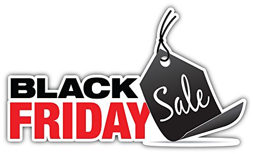 Black Friday Sale Bumper Sticker Vinyl Art Decal for Car Truck Van Window Bike Laptop