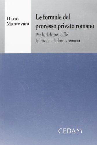 Formule processo privato romano