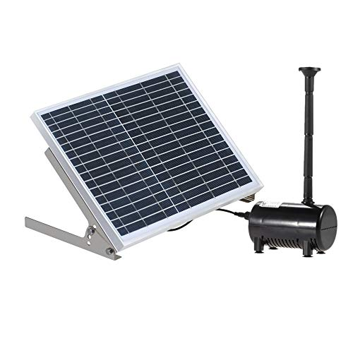 Festnight High Power Solar fontein 17V 10W apparatuur Solar water pomp landschap tuin decoratieve fontein en waterspelen
