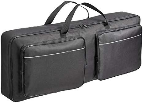 Amazon Basics Keyboard Gig Bag for 61 note Portable Electric Piano Padded Black product image