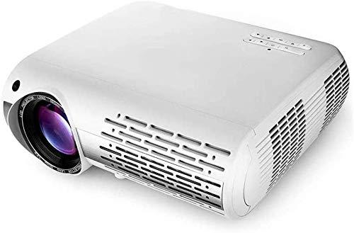 Projector helderheid 1080p LCD Projector 6500 Lumens 1920x1080 4K LED Video Beamer Home Theater Cinema (Kleur: Foto kleur, Maat: Een maat) dljyy (Color : Photo Color, Size : One Size)