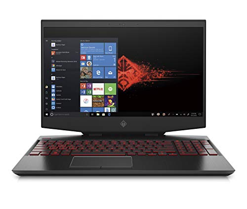 HP - Gaming OMEN 15-dh0052nl Notebook, Intel Core i7-9750H, RAM 16 GB, SSD 1 TB, NVIDIA GeForce RTX 2060 6 GB, Windows 10 Home, Schermo 15.6  FHD IPS 144 Hz, Bang&Olufsen, USB-C, HDMI, RJ-45, Nero