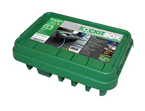 SOCKiTBOX 100533215 Weatherproof Green Medium Box, White
